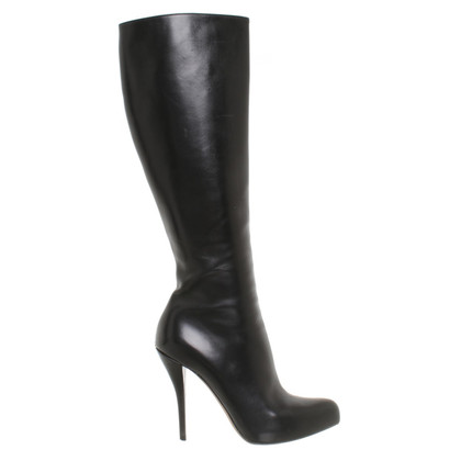 Christian Dior Laarzen in zwart