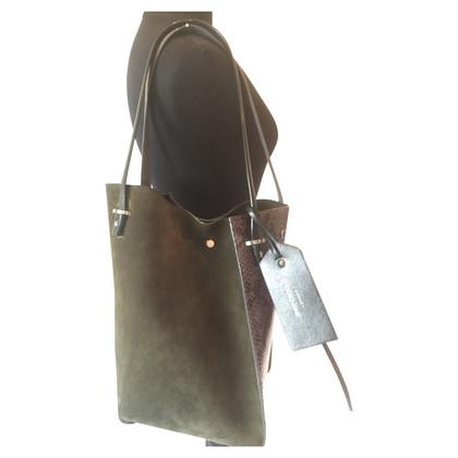 Jimmy Choo Python leather Tote Bag