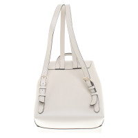 Coccinelle Backpack in cream white