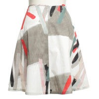Cinque skirt with pattern