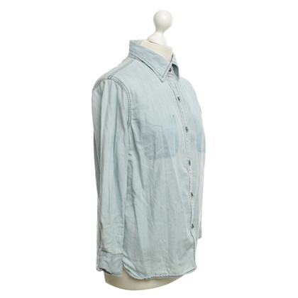 Current Elliott Denim shirt in blauw