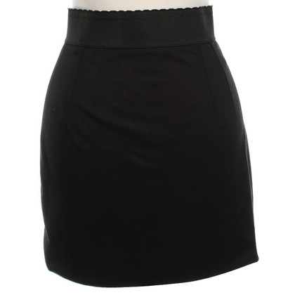 Dolce & Gabbana Mini skirt in black
