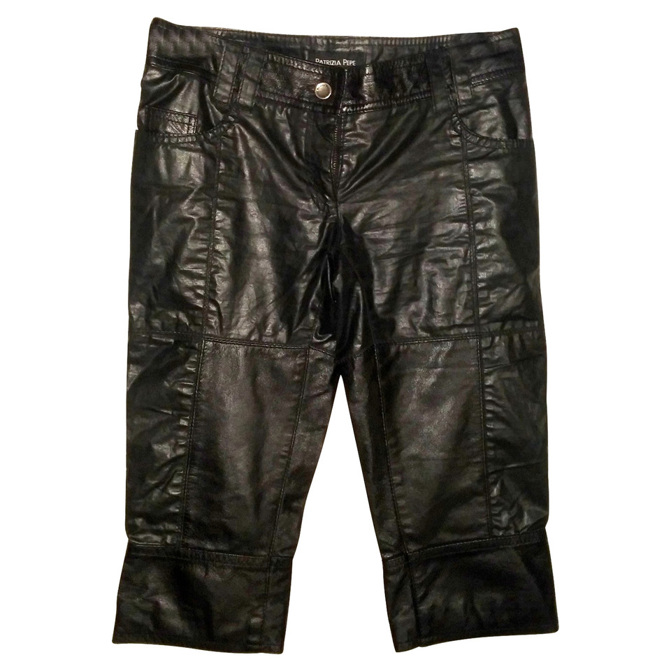 Patrizia Pepe trousers in leather