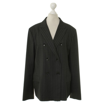 Jil Sander Blazer con pin-striped-modello