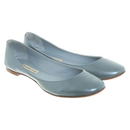 L'autre Chose Ballerinas in light blue