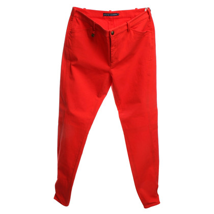 Ralph Lauren trousers in red