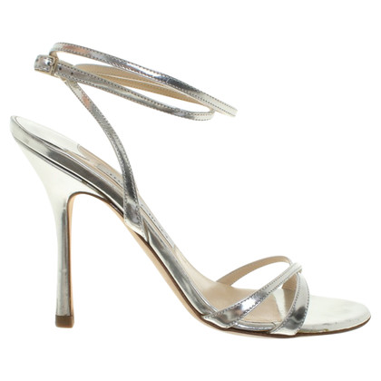 Jimmy Choo Sandals in zilver
