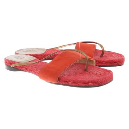 Hermès Sandals in red