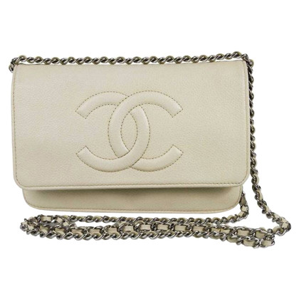 Chanel Caviar Timeless WOC Wallet On a Chain