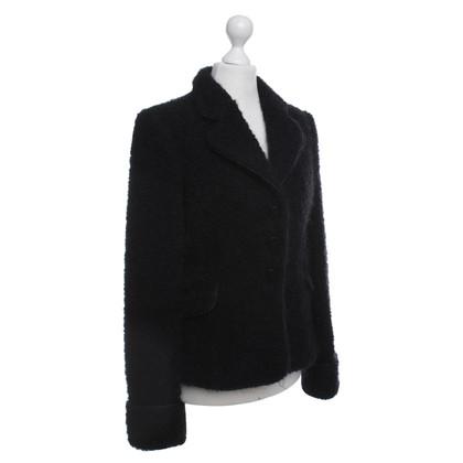 Armani Collezioni Blazer nero con velcro