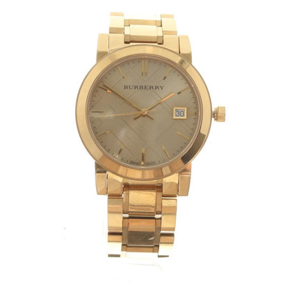 Burberry Goldfarbene Armbanduhr