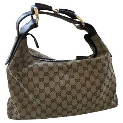 Gucci Hand bag with Monogram-pattern
