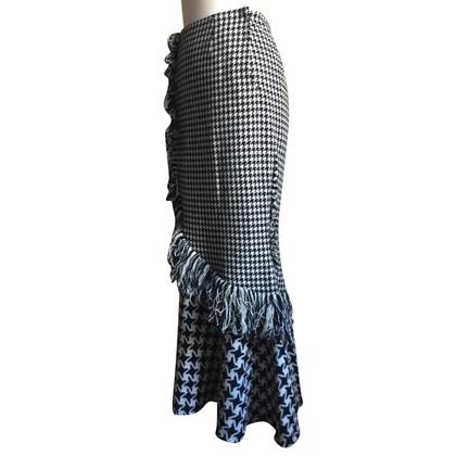 Yohji Yamamoto Langer skirt