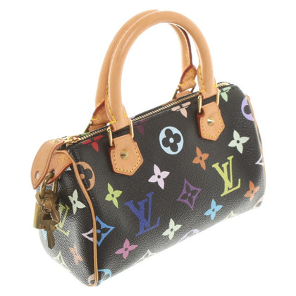 Louis Vuitton Miniatur Monogram-Canvas Täschchen