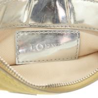 Loewe clutch Suede