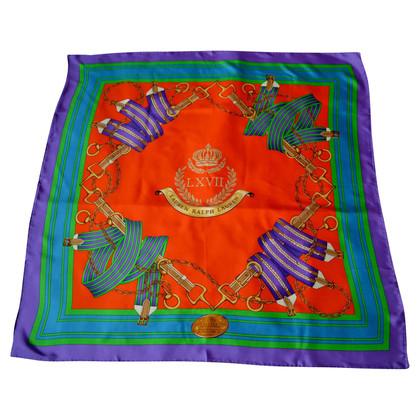Ralph Lauren Zijden sjaal patronen