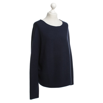 Drykorn Boxy Pullover in Blau