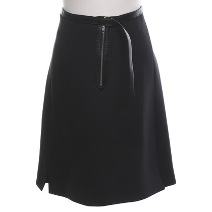 Louis Vuitton skirt in black