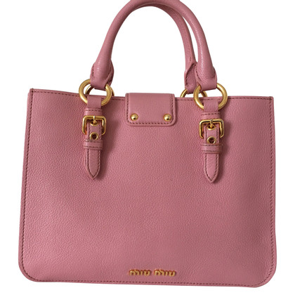 Miu Miu Handtas in Pink