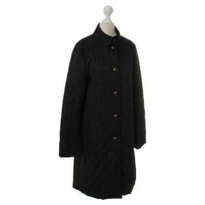 Burberry Quilted coat in black