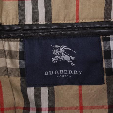 Burberry Jacke aus Leder Braun Freies Verschiffen Klassische Günstig Kaufen 100% Garantiert xTOpx3kLkD