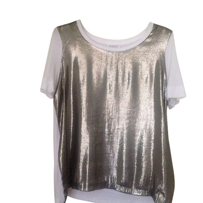 Claudie Pierlot Shirt in white / gold