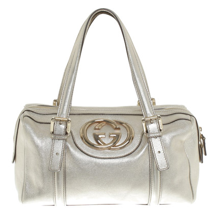 Gucci Handbag in Gold / Metallic