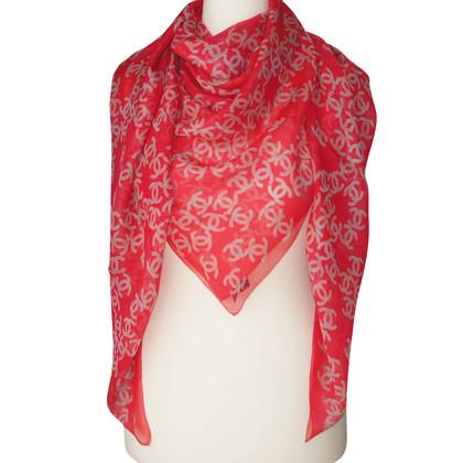 Chanel Chanel scarf Scarf Fuchsia scarf