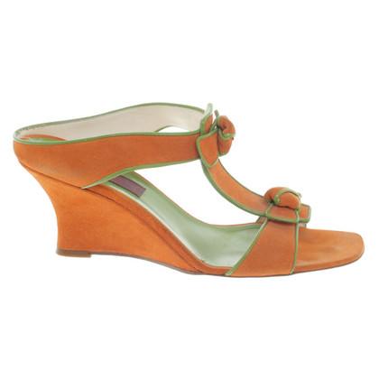 Kenzo Sandalen in oranje