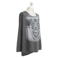 Marc Cain Print shirt in grey