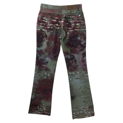 Just Cavalli Zwarte geschilderde Jeans