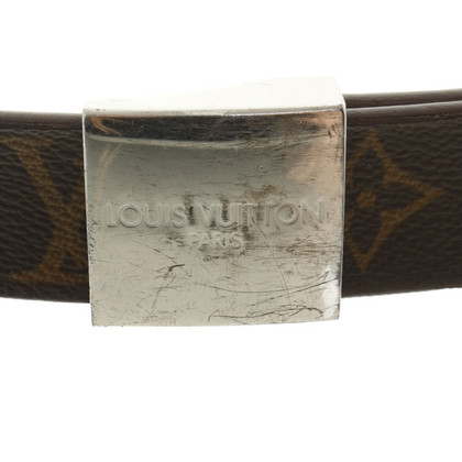 Louis Vuitton Belt from Monogram Canvas