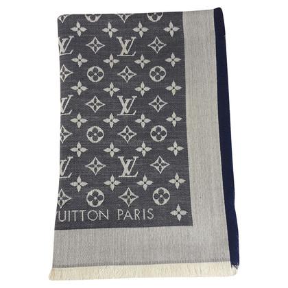 Louis Vuitton Monogram-Denim-Tuch in Blau