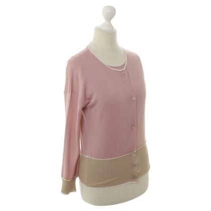 Prada Vest met top in Rosé