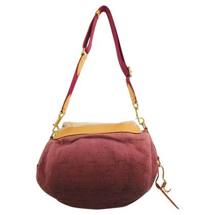 """Louis Vuitton """"Denim Sunshine NM Messenger Rouge Fauviste"""""""