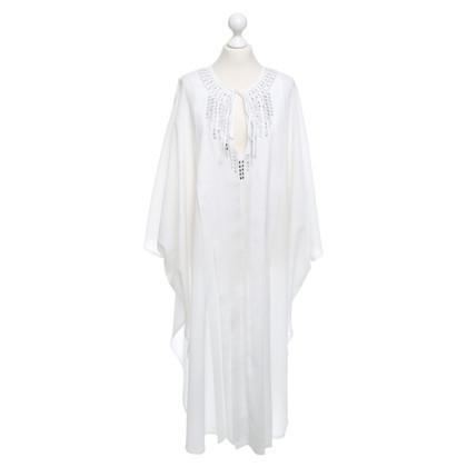 La Perla Kaftan dress in white