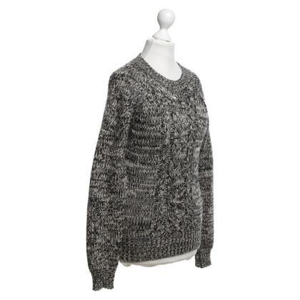 Isabel Marant Etoile Trui in zwart / Beige