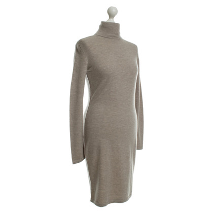 Iris von Arnim Sweater dress in Taupe