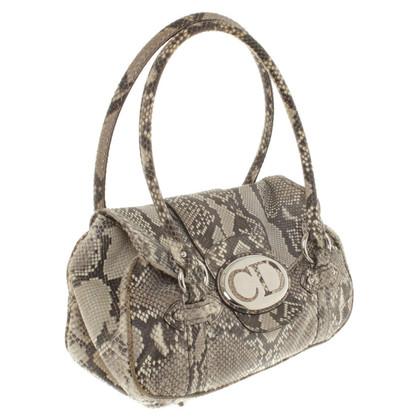 Christian Dior Handtasche aus Reptilleder