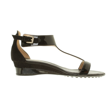 Tod's Sandals of patent leather
