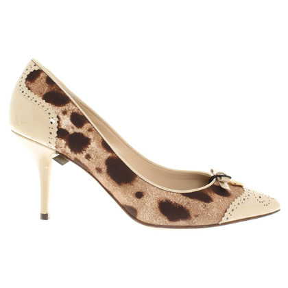Dolce & Gabbana Pumps mit Leoprint