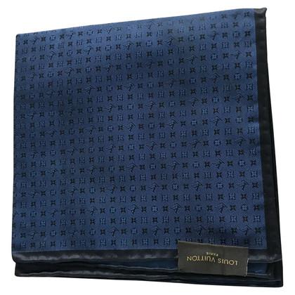 Louis Vuitton Sciarpa di seta con motivo monogramma