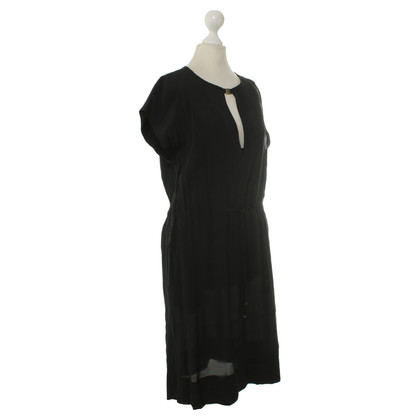 René Lezard Summer dress in black