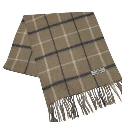 Burberry Cashmere Tartan foulard