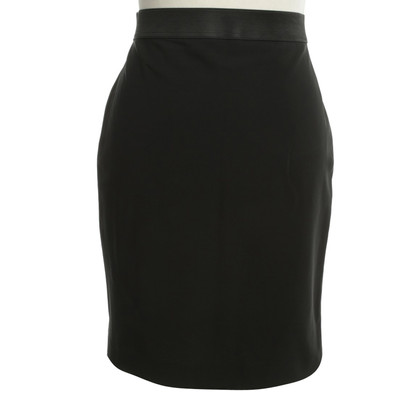 Marc Cain skirt with flounce in Hintersaum