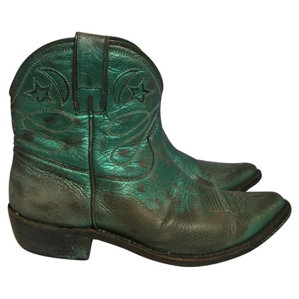 Golden Goose Ankle boots in green