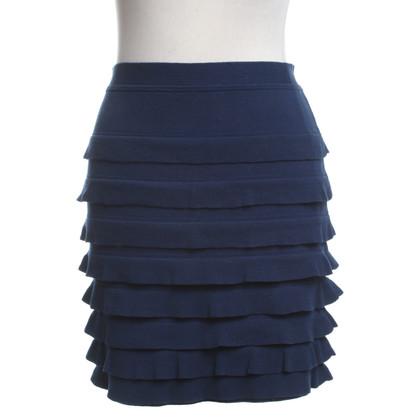 3.1 Phillip Lim Knitted skirt in blue