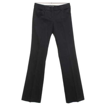 Theory Bootcut trousers in navy blue