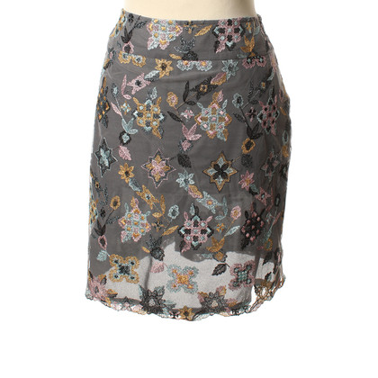 Christian Lacroix skirt with embroidery