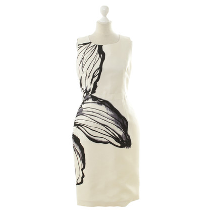 Aquilano Rimondi Sheath dress with a floral pattern